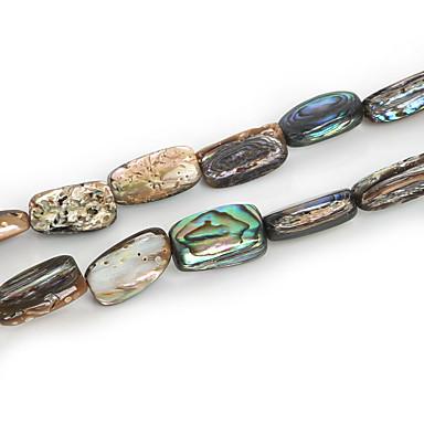 beadia szabálytalan alakú természetes abalone tengeri kagyló gyöngyök (38cm / kb 26pcs)