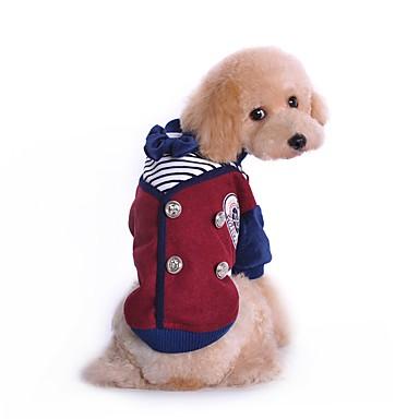 고양이 강아지 코스츔 티셔츠 강아지 의류 귀여운 코스프레 패션 브리티쉬 그레이 와인 코스츔 애완 동물