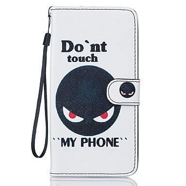 용 아이폰7케이스 / 아이폰7플러스 케이스 / 아이폰6케이스 지갑 / 카드 홀더 / 스탠드 케이스 풀 바디 케이스 동물 하드 인조 가죽 Apple 아이폰 7 플러스 / 아이폰 (7)
