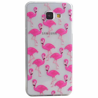 Kılıf Na Samsung Galaxy Samsung Galaxy Etui Wzór Czarne etui Zwierzę Miękkie TPU na A5(2016) A3(2016)