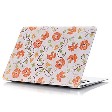 MacBook Futerał na Futerały pełne Kwiaty Plastikowy MacBook Pro 15 cali MacBook Air 13 cali MacBook Pro 13 cali MacBook Air 11 cali
