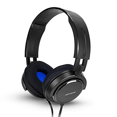ARTISTE AWP3000A A fülön Fejpánt Vezetékes Fejhallgatók Dinamikus Műanyag Mobiltelefon Fülhallgató Zajszűrő Mikrofonnal A