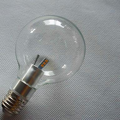 E26/E27 LED gömbbúrás izzók G95 6 led SMD 3528 Dekoratív Meleg fehér Hideg fehér 3000/6500lm 3000,6500(K)K AC 220-240V