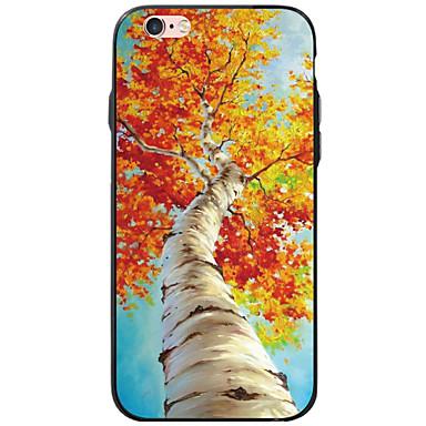 용 아이폰6케이스 아이폰6플러스 케이스 아이폰5케이스 케이스 커버 투명 패턴 뒷면 커버 케이스 나무 소프트 TPU 용 Apple iPhone 6s Plus iPhone 6 Plus iPhone 6s 아이폰 6 iPhone SE/5s iPhone 5
