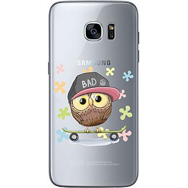 케이스 제품 Samsung Galaxy Samsung Galaxy S7 Edge 패턴 뒷면 커버 카툰 소프트 TPU 용 S7 edge S7 S6 edge plus S6 edge S6