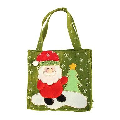 pień Santa Claus choinki bałwana łosia pamiątkowe torby handmade moda Boże Narodzenie torby dar dekoracji domu