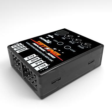 일반 일반 RC IstoneAcro 부품 액세서리 RC 비행기 블랙 메탈 / 플라스틱 1개