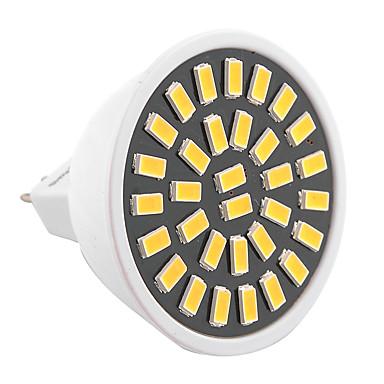 ywxlight® 6w mr16 led spotlámpa 32smd 5733 500-600lm meleg / hideg fehér ac 110v / 220v