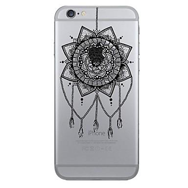 용 아이폰7케이스 / 아이폰7플러스 케이스 / 아이폰6케이스 패턴 케이스 뒷면 커버 케이스 포수 드림 소프트 TPU Apple 아이폰 7 플러스 / 아이폰 (7) / iPhone 6s Plus/6 Plus / iPhone 6s/6