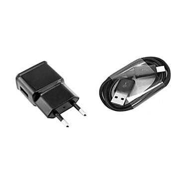 Domácí nabíječka / Přenosná nabíječka Nabíječka USB EU zásuvka Nabíjecí sada 1 USD port 1 A pro