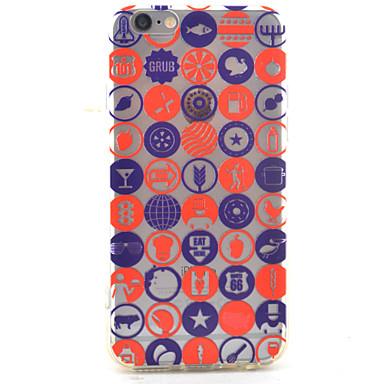 용 아이폰7케이스 / 아이폰7플러스 케이스 / 아이폰6케이스 투명 / 패턴 케이스 뒷면 커버 케이스 단어 / 문구 하드 아크릴 Apple 아이폰 7 플러스 / 아이폰 (7) / iPhone 6s Plus/6 Plus / iPhone 6s/6