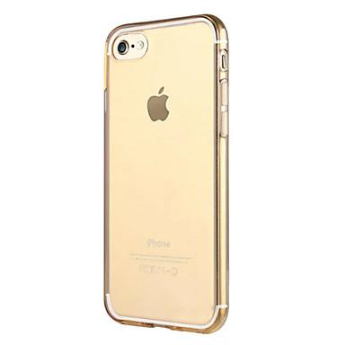 Kompatibilitás iPhone X iPhone 8 iPhone 7 iPhone 7 Plus iPhone 6 tokok Átlátszó Other Hátlap Case Tömör szín Puha Hőre lágyuló poliuretán