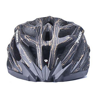 MOON Unisex Bisiklet Kask 27 Delikler Bisiklet Bisiklete biniciliği Dağ Bisikletçiliği Yol Bisikletçiliği Eğlence BisikletçiliğiOrta: