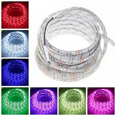 z®zdm 5m 72W 300x5050smd warm / groen / blauw / roze / geel / rood / witte led strip lamp (12V)