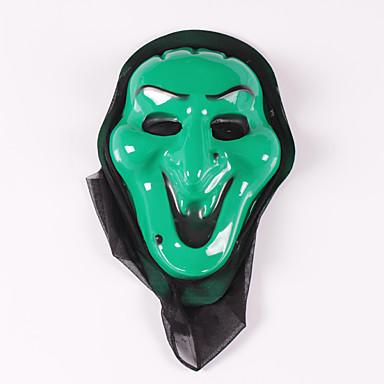 (Minta véletlenszerű) 1db halloween maszkot maskara fél sikoly vámpír maszk csontváz szelleme