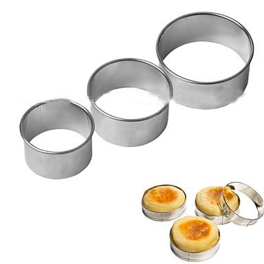 1szt Nowość Czekoladowy Placek Ciasteczka Metal Wysoka jakość Forma do pieczenia