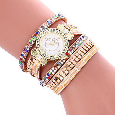 Women's Casual Fashion Quartz Watch Personality Simple Bracelet Round Alloy Dial Watch Cool Watch Unique Watches