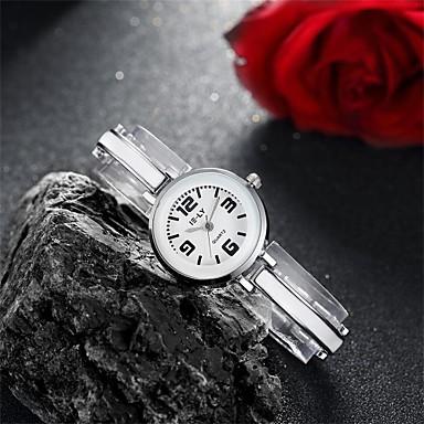 아가씨들 패션 시계 팔찌 시계 방수 석영 합금 밴드 참 캐쥬얼 블랙 실버 핑크