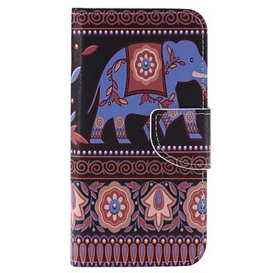 케이스 제품 Samsung Galaxy 카드 홀더 지갑 스탠드 전체 바디 케이스 코끼리 하드 PU 가죽 용 J3 (2016) J3