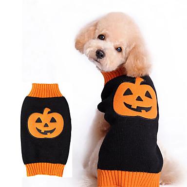 كلب ازياء تنكرية ملابس الكلاب الكوسبلاي الأزهار/النباتية برتقالي كوستيوم للحيوانات الأليفة
