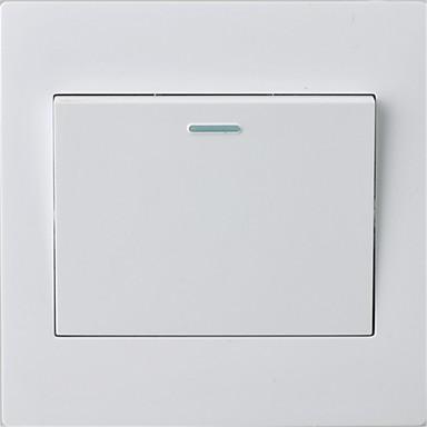Egy nyílt kettős kapcsoló panel 86 rejtett fali kapcsoló / öt csomag eladó