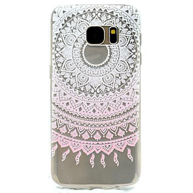 케이스 제품 Samsung Galaxy S8 Plus S8 패턴 뒷면 커버 레이스 인쇄 소프트 TPU 용 S8 S8 Plus S7 edge S7 S5 Mini S5