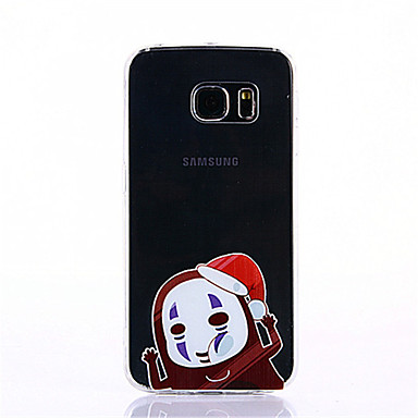 케이스 제품 Samsung Galaxy S7 edge S7 패턴 뒷면 커버 카툰 소프트 TPU 용 S7 edge S7 S6 edge plus S6 edge S6
