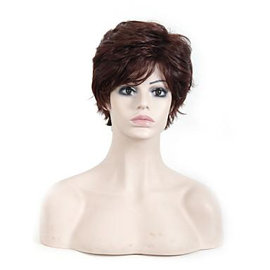 AISI HAIR 여성 인조 합성 가발 요동하는 어번(적갈색) 내츄럴 가발 코스튬 가발