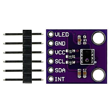 ap3216 digitális környezeti fény közelség érzékelő modul Arduino