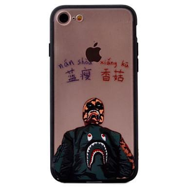 Mert Dombornyomott / Minta Case Hátlap Case Rajzfilmfigura Kemény Akril AppleiPhone 7 Plus / iPhone 7 / iPhone 6s Plus/6 Plus / iPhone