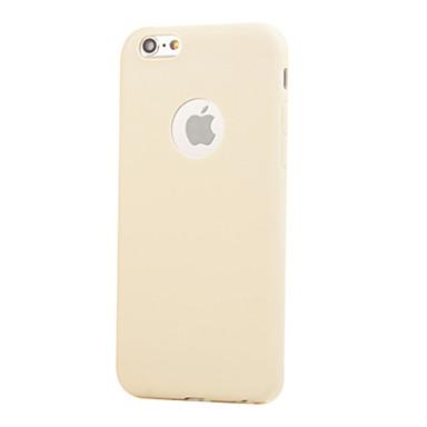 케이스 제품 Apple iPhone X / iPhone 8 / iPhone 6 Plus 충격방지 뒷면 커버 솔리드 소프트 TPU 용 iPhone X / iPhone 8 Plus / iPhone 8