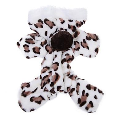 Pisici Câine Hanorace cu Glugă Salopete Pijamale Îmbrăcăminte Câini Leopard Maro Roz Lână polară Costume Pentru animale de companie