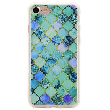 케이스 제품 Apple iPhone 7 iPhone 7 Plus 반투명 뒷면 커버 기하학 패턴 소프트 TPU 용 아이폰 7 플러스 아이폰 (7)