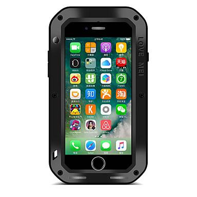 용 물 / 먼지 / 충격 증명 케이스 풀 바디 케이스 단색 하드 메탈 Apple 아이폰 7 플러스 / 아이폰 (7) / iPhone 6s Plus/6 Plus / iPhone 6s/6