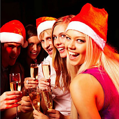 karácsonyi megvastagodása Gyapjú fél kellékek karácsonyi kalap