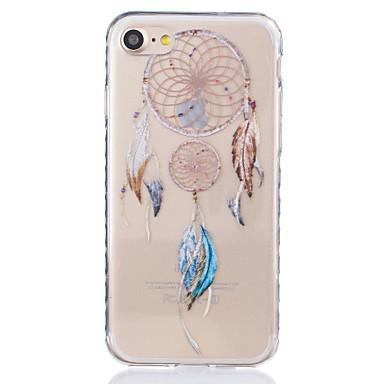 Mert iPhone 7 tok / iPhone 6 tok / iPhone 5 tok Átlátszó / Minta Case Hátlap Case Álomvadász Puha TPU AppleiPhone 7 Plus / iPhone 7 /