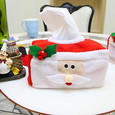 크리스마스 장식 크리스마스 티슈 상자 16 * 10 * 8cm