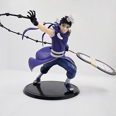 Anime Akciófigurák Ihlette Naruto Uchiha Obito PVC 22 CM Modell játékok Doll Toy