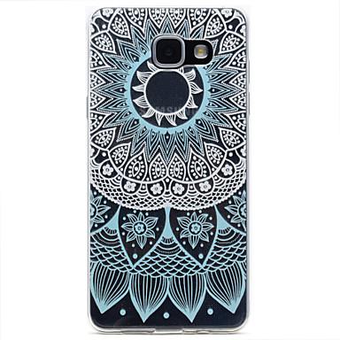 케이스 제품 Samsung Galaxy A5(2017) A3(2017) 패턴 뒷면 커버 레이스 인쇄 소프트 TPU 용 A3 (2017) A5 (2017) A7 (2017) A5(2016) A3(2016)