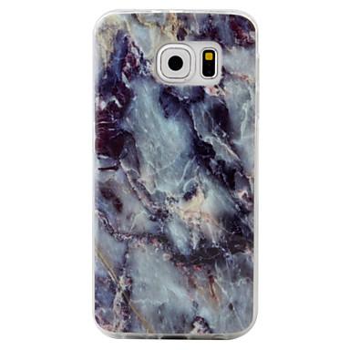 Coque Pour Samsung Galaxy S7 edge / S7 Motif Coque Marbre Flexible TPU pour S7 edge / S7 / S6 edge