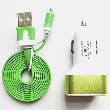 USB 2.1 올인원 케이블 Huawei LG Nokia Lenovo Motorola Xiaomi HTC Sony 용 100cmABS