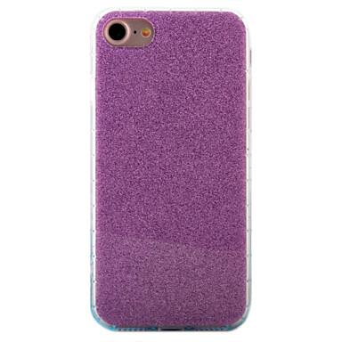 Mert iPhone 7 tok / iPhone 7 Plus tok IMD Case Hátlap Case Csillámpor Kemény Akril Apple iPhone 7 Plus / iPhone 7