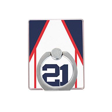 야구 재킷 패턴 플라스틱 반지 홀더 / 360 휴대 전화 아이폰 8 7에 대 한 회전 삼성 갤럭시 s8 s7