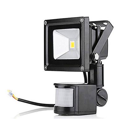 Reflektory LED Sensor Wodoodporne Oświetlenie zwenętrzne Ciepła biel Zimna biel AC 85-265V