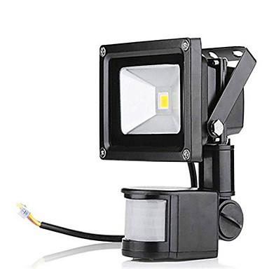 LED 투광 조명 센서 방수 실외 조명 따뜻한 화이트 차가운 화이트 AC 85-265V
