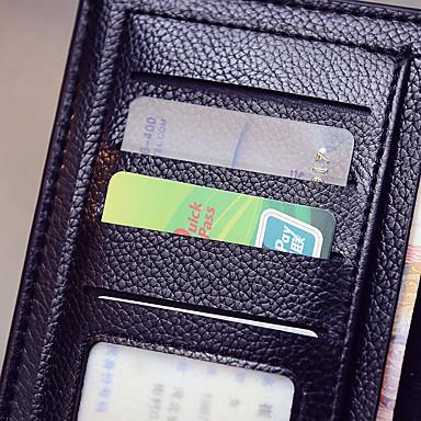 여권 지갑& ID홀더 방수 휴대용 먼지 방지 여행용 보관함 용 방수 휴대용 먼지 방지 여행용 보관함블랙 커피 브라운