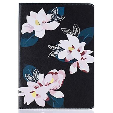 용 지갑 / 카드 홀더 / 스탠드 / 플립 / 엠보싱 텍스쳐 / 패턴 케이스 풀 바디 케이스 꽃장식 하드 인조 가죽 SamsungTab S2 9.7 / Tab S2 8.0 / Tab E 9.6 / Tab E 8.0 / Tab A 9.7 / Tab