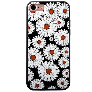 용 아이폰7케이스 / 아이폰7플러스 케이스 / 아이폰6케이스 엠보싱 텍스쳐 / 패턴 케이스 뒷면 커버 케이스 꽃장식 하드 아크릴 Apple 아이폰 7 플러스 / 아이폰 (7) / iPhone 6s Plus/6 Plus / iPhone 6s/6