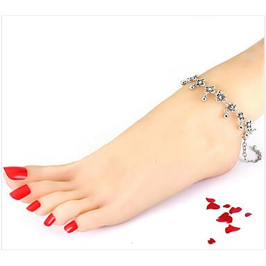 Kadın Ayak bileziği/Bilezikler alaşım Moda Avrupa Mücevher Uyumluluk Günlük Kumsal