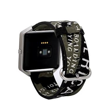 Watch Band na Fitbit Blaze Fitbit Pasek sportowy Tkanina Opaska na nadgarstek